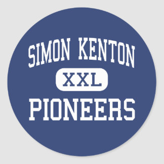 Simon Kenton - Pioneers - High - Independence Classic Round Sticker
