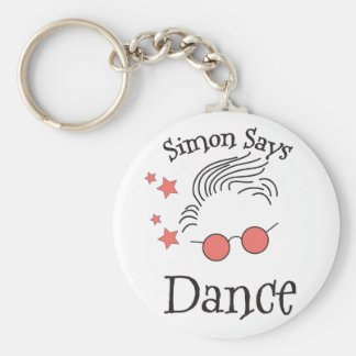 Simon Says dance Keychain
