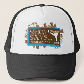 simon says trucker hat
