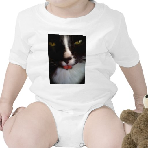 Simon the bad attitude cat baby bodysuit