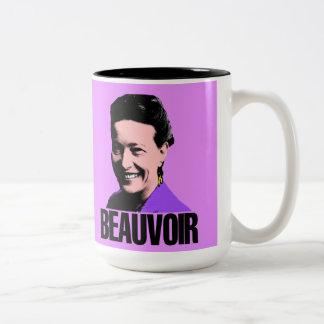 Simone de Beauvoir mug