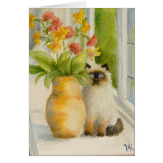 """Simone"" note card by Deborah Ann Klenzman"