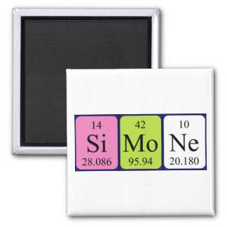Simone periodic table name magnet