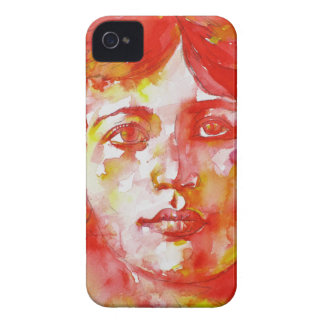 simone weil - watercolor portrait.1 iPhone 4 cover