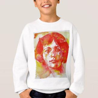 simone weil - watercolor portrait.1 sweatshirt