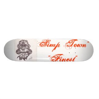 """Simp Town"" Pro deck Skateboard Decks"