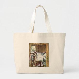 Simpkin le chat sert le thé - Beatrix Potter Sac En Toile Jumbo