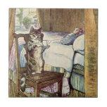 Simpkin the Cat Serves Tea - Beatrix Potter