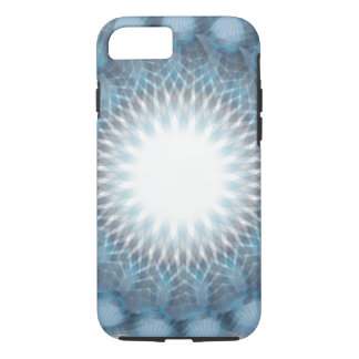 Simple Abstract Blues iPhone 8/7 Case