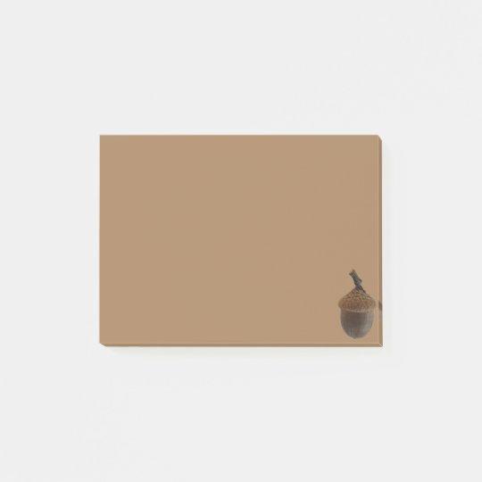 Simple Acorn Post-it® Notes