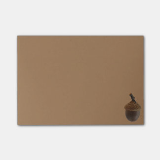 Simple Acorn Post-It Post-it Notes