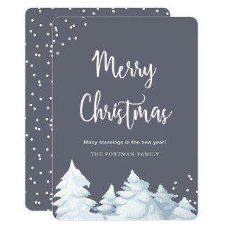 Simple and Elegant Merry Christmas Card