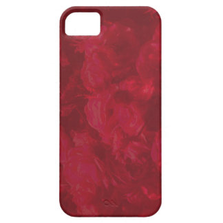 simple and elegant rose red iphone case