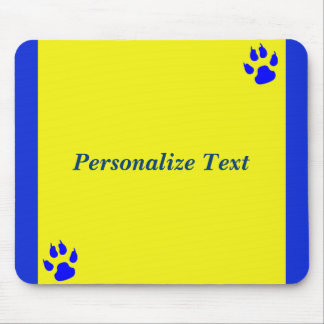 Simple animal lover customizable mouse pad