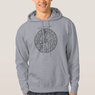 Simple Art of a Fly Fishing Reel Hoodie