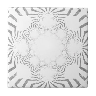 Simple Beautiful amazing soft white pattern design Tile