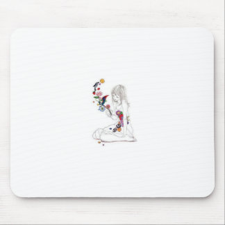 Simple Beauty Mouse Pad