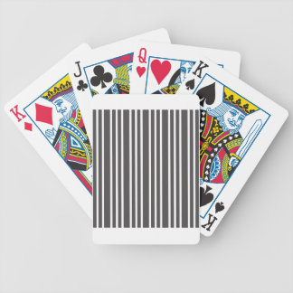 simple beauty stripes love fresh new style bicycle playing cards