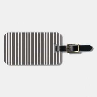 simple beauty stripes love fresh new style luggage tag