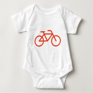 Simple Bicycle Baby Bodysuit