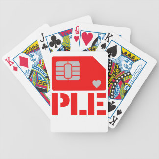 'SIM'ple Bicycle Playing Cards