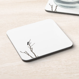 Simple Bird on a Branch | Coaster