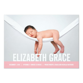 SIMPLE Birth Announcements
