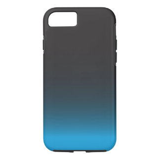Simple Black and Blue iPhone 7 Case, Tough Case-Mate iPhone Case