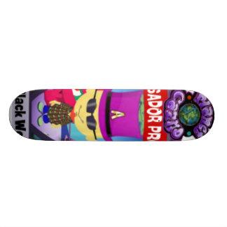 Simple Black Wolf Board Skate Decks