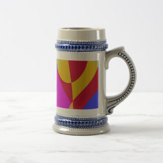 Simple Blue Background Coffee Mugs