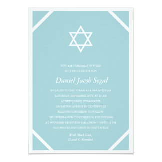 Browse the Bar Mitzvah Invitations Collection and personalize by color, design, or style.