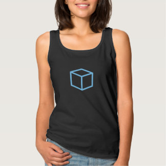 Simple Blue Box Icon Shirt