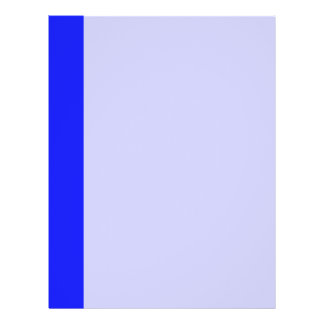 simple blue flyers