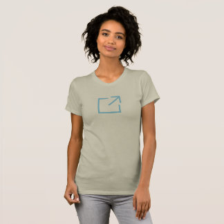 Simple Blue Outbox Icon Shirt