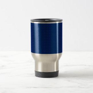 Simple Blue Stainless Steel Travel Mug