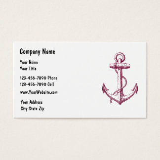 SImple Boating Business Cards
