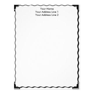 Simple Border Custom Letterhead