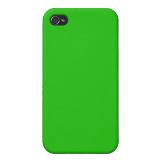 simple bright green colour cases for iPhone 4