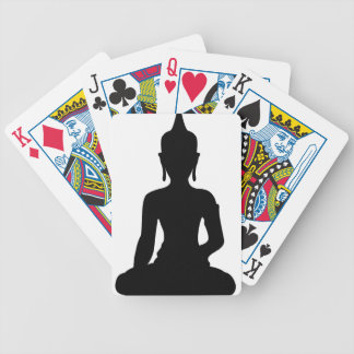 Simple Buddha Bicycle Playing Cards