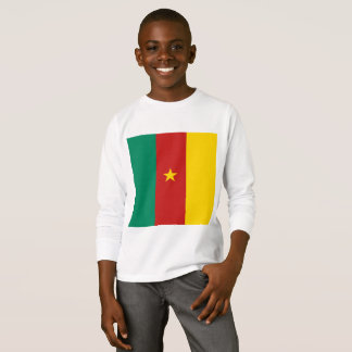 Simple Cameroon Flag, Cameroon Africa shirt