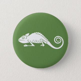 simple chameleon 2 inch round button