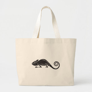 simple chameleon large tote bag