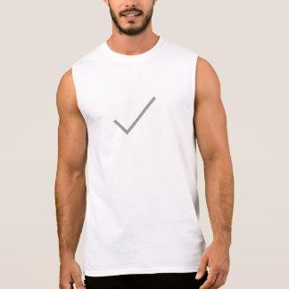 Simple Check Mark Icon Shirt