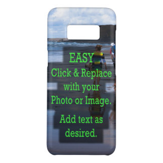 Simple Click and Replace Image to Create Your Own Case-Mate Samsung Galaxy S8 Case