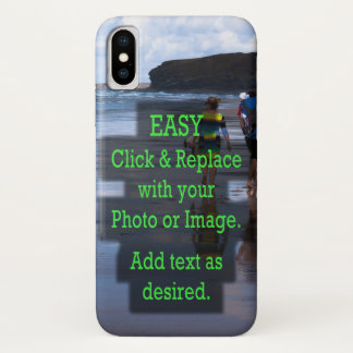 Simple Click and Replace Photo to Create Your Own Case-Mate iPhone Case