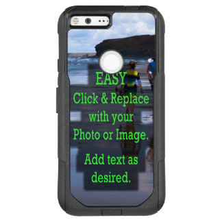 Simple Click and Replace Photo to Make Your Own OtterBox Commuter Google Pixel XL Case