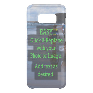 Simple Click & Replace Image to Make Your Own Uncommon Samsung Galaxy S8 Case