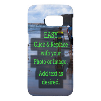 Simple Click & Replace Photo to Create Your Own Samsung Galaxy S7 Case