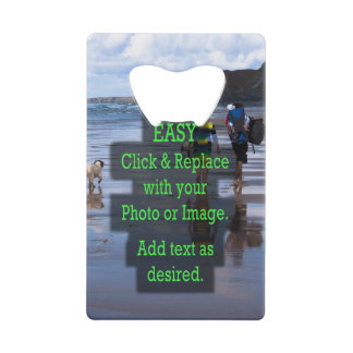 Simple Click & Replace Photos to Make Your Own Wallet Bottle Opener
