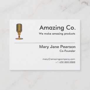 Founders business cards profile cards zazzle ca simple co founder founder logo professional business card colourmoves